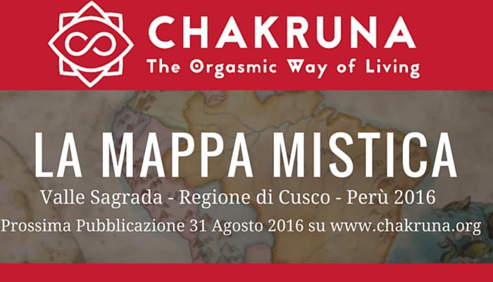 Il 31 Agosto esce la prima Mappa Mistica