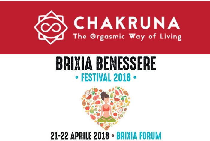 21-22 Aprile, CHAKRUNA al Brixia Benessere Festival