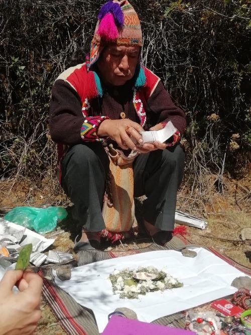 meditazione andina