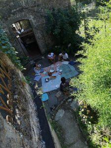 pranzo ecovillaggio